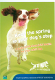 ' keeping the spring in your dog's step'